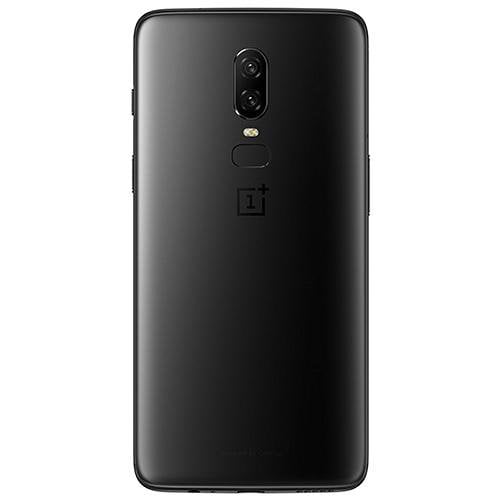 OnePlus 6 (A6003) Midnight Black - Back View