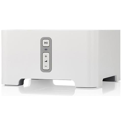 SONOS CONNECT Wireless Receiver for Streaming Music White - Front View