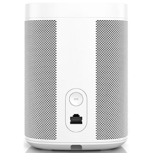 SONOS One Wireless Smart Speaker for Streaming Music White - Back View