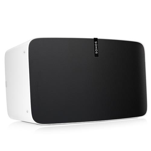 SONOS PLAY:5 Wireless Speaker for Streaming Music White - Front Side View