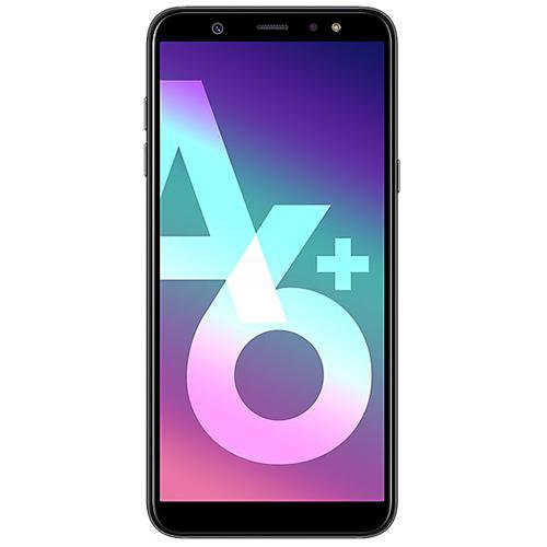 Samsung Galaxy A6+ Black - Front View