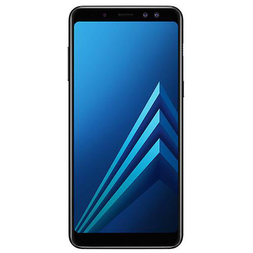 Samsung Galaxy A8 (2018) Black - Front View