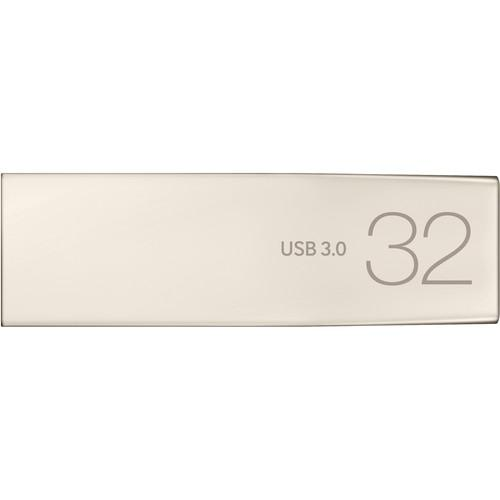 Samsung USB 3.0 Metal Flash Drive Bar - Front View