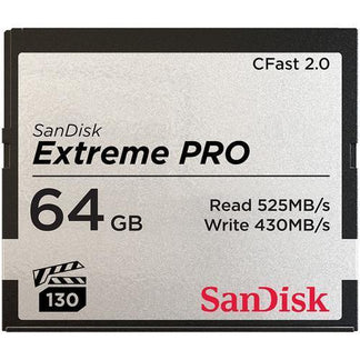 SanDisk Extreme Pro CFast 2.0 525MBs