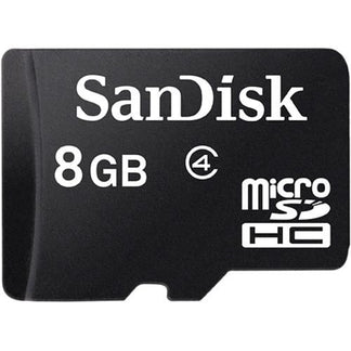 SanDisk MicroSD Class 4 (with Adaptor)