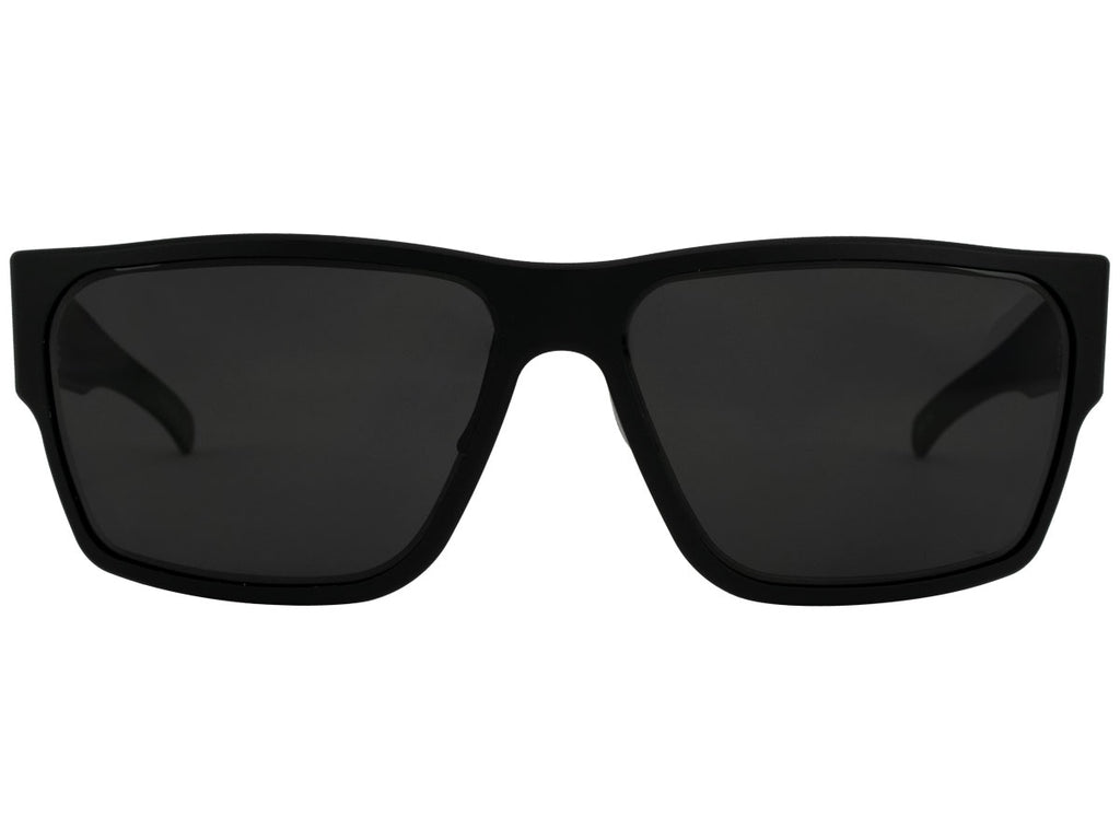 Delta Matte Black with Smoked Lens