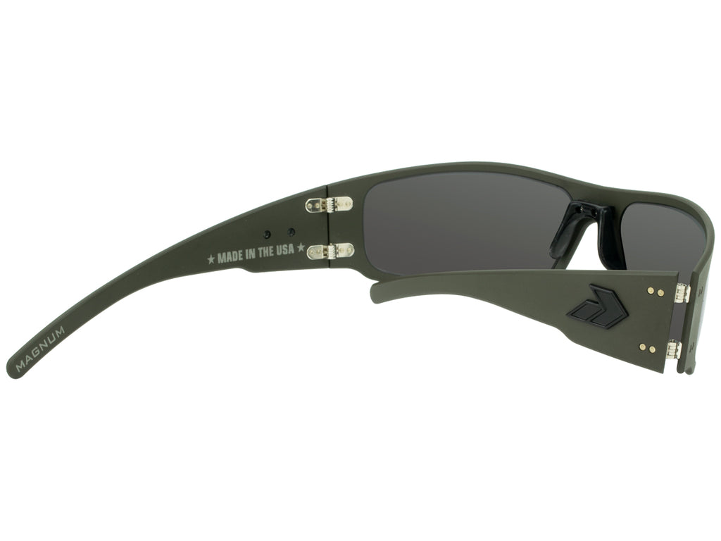 Magnum Cerakote OD Green with Smoked Polarized Lens