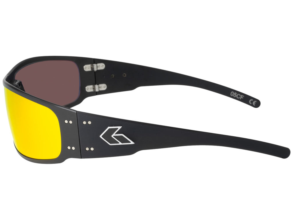 Magnum Black with Sunburst Polarized Lens