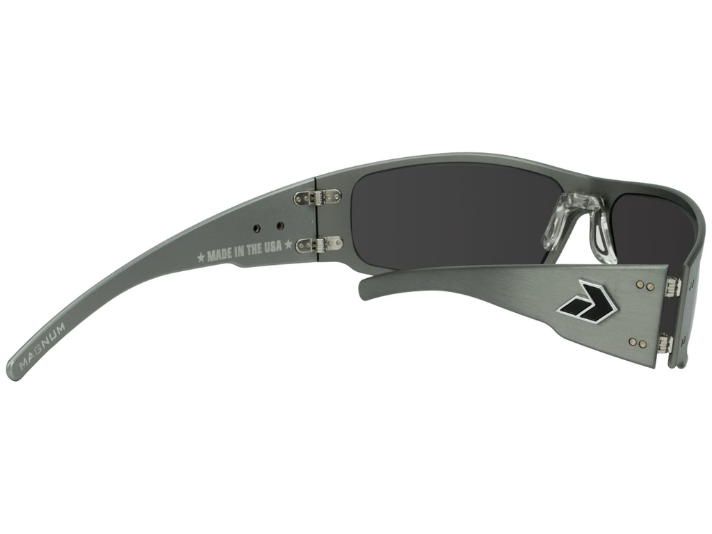 Magnum Gunmetal with Smoked Polarized Lens
