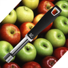 K Basix Apple Corer - Stainless Steel - Commercial Grade Metal with Soft Rubber Handle