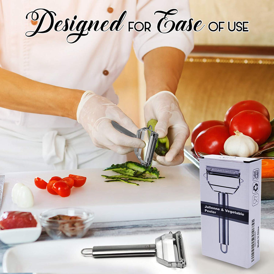 Vegetable Peeler, Ultra Sharp Stainless Steel
