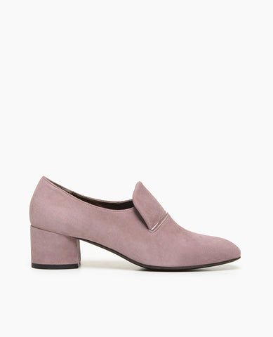 Coclico Viola Suede Women's Loafer with Block Heel