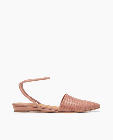 Ainslie Flat-Closed Flat-Deep Rose-35-COCLICO-womens-shoes