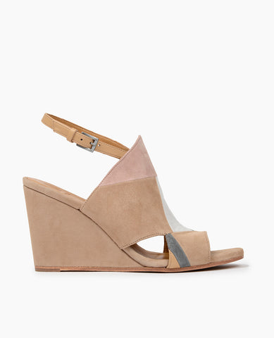 Coclico Jordy wedge Patchwork