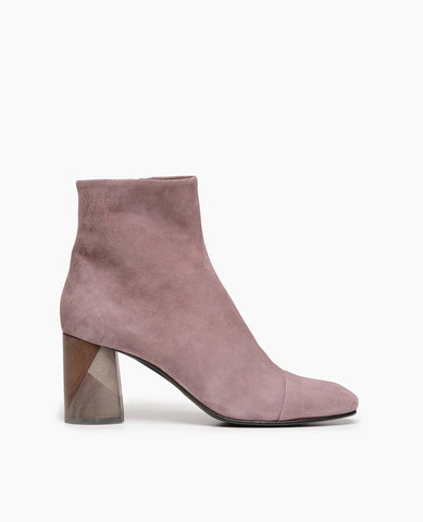 Coclico Laeve Women's Bootie in lilac suede