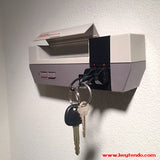 "The ""Keytendo"" Console Key Holder (with 2 keychains and mounting hardware)"