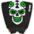 GREEN SKULL TAILPAD DIAMOND