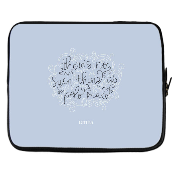 No Such Thing As Pelo Malo Laptop Cover