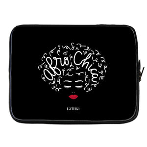 Afro Chica Laptop Cover