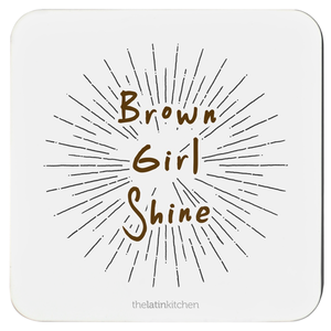 Brown Girl Shine Coasters 4-Pack