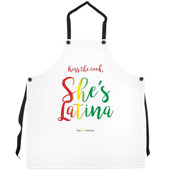 Kiss The Cook, She's Latina Apron