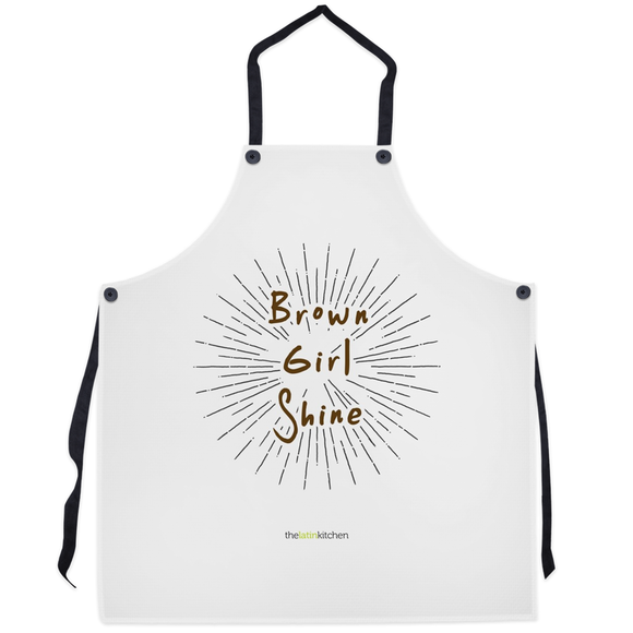 Brown Girl Shine Apron