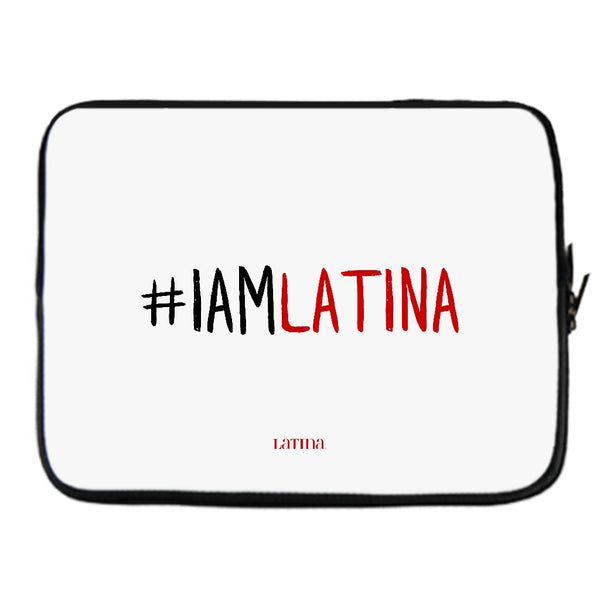 I Am Latina Off-White Laptop Cover
