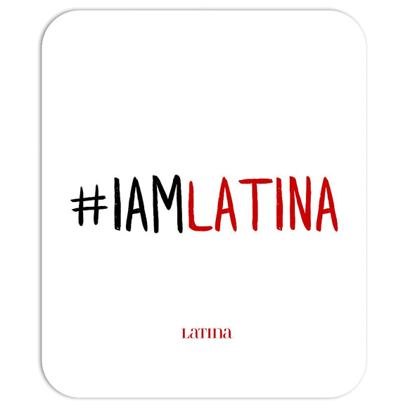 I Am Latina White Mousepad
