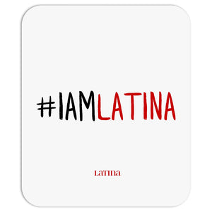 I Am Latina Off-White Mousepad