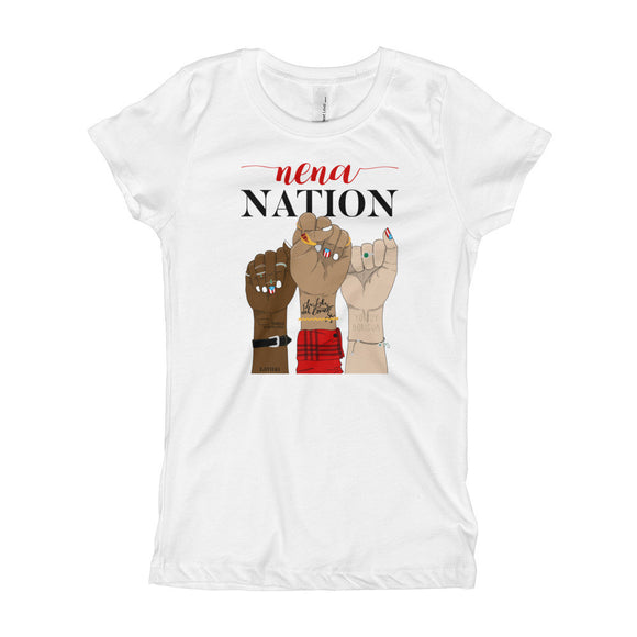 Nena Nation Girl's T-Shirt