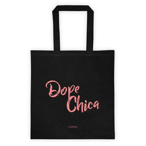 Dope Chica in Pink Tote bag