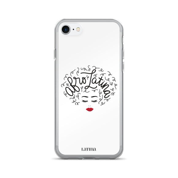 Afro Latina White iPhone 7/7 Plus Case