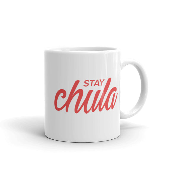 Stay Chula in Red Mug