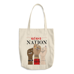 Nena Nation Cotton Tote Bag