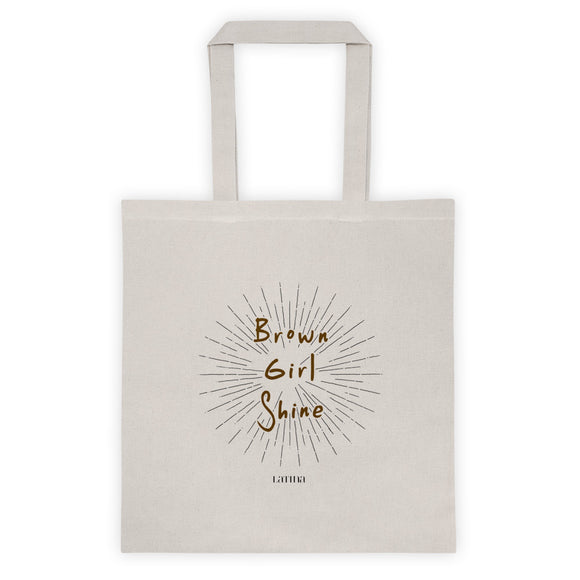 Brown Girl Shine Tote bag
