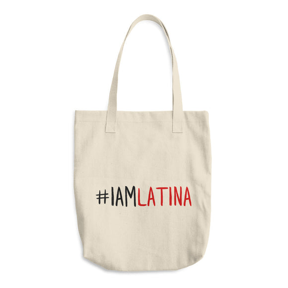 I Am Latina Cotton Tote Bag