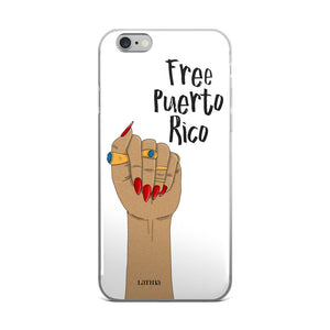 Free Puerto Rico iPhone 6/6s, 6/6s Plus Case