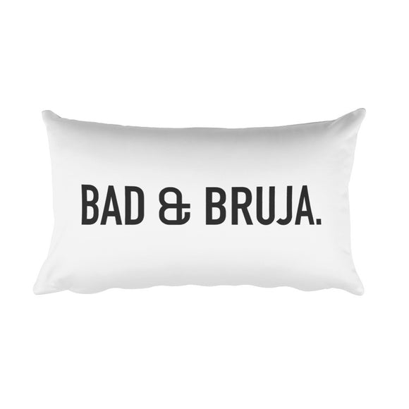 Bad & Bruja Rectangular Pillow