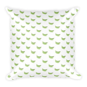Platanos Pattern Square Pillow