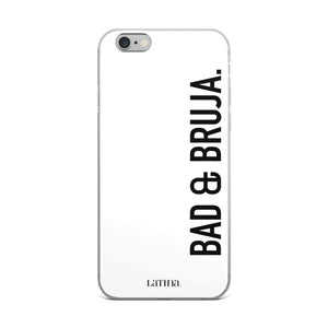 Bad & Bruja iPhone Case in White