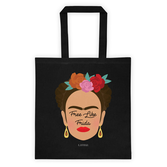 Free Like Frida Tote bag