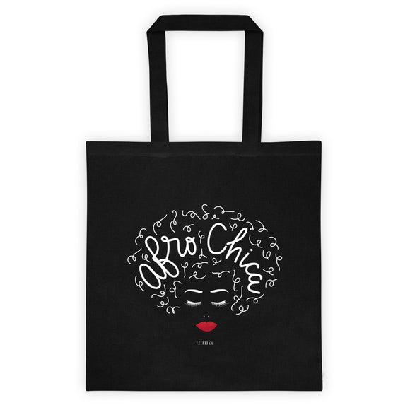 Afro Chica Tote bag