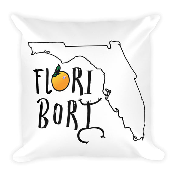 Flori Bori Square Pillow