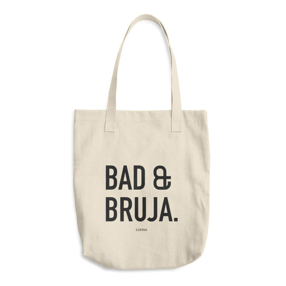 Bad & Bruja Cotton Tote Bag