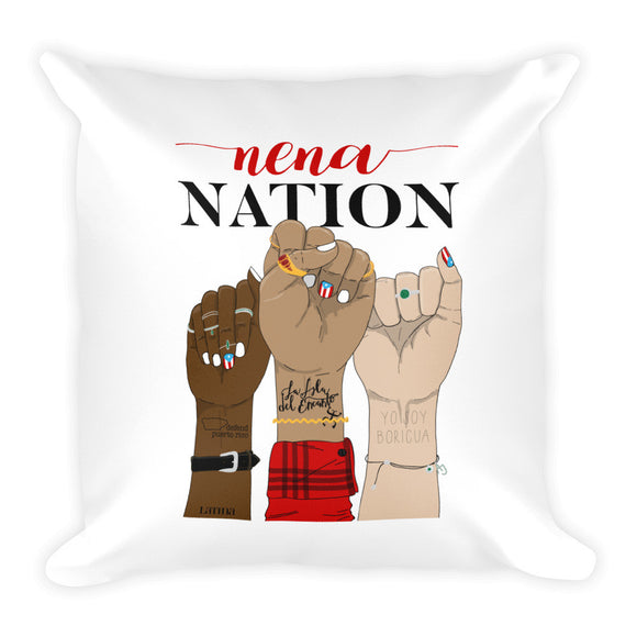 Nena Nation Square Pillow