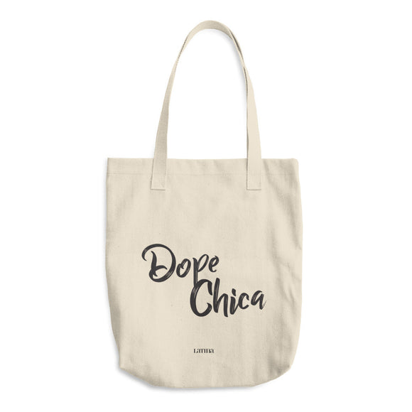 Dope Chica Cotton Tote Bag