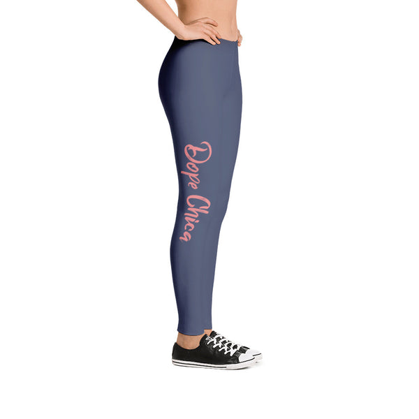 Dope Chica Leggings in Blue