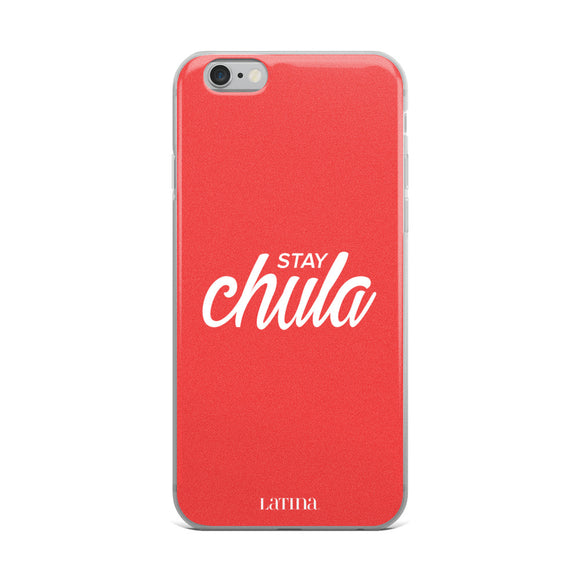 Stay Chula Red iPhone Case