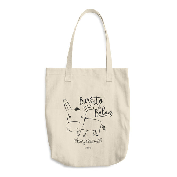 Burrito De Belen Cotton Tote Bag