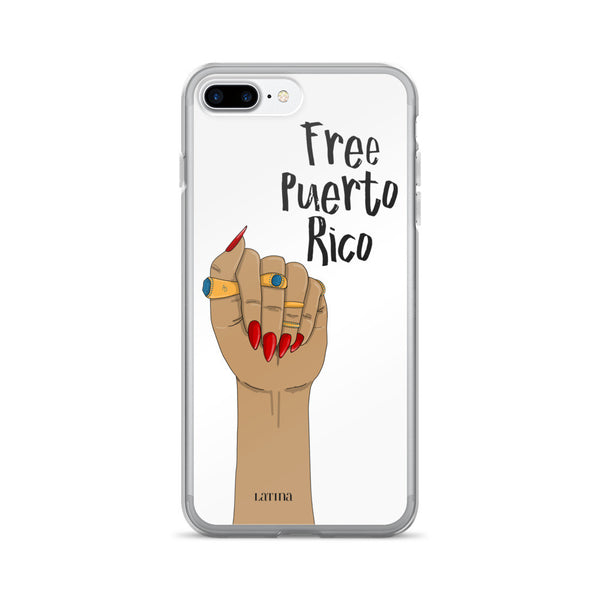 Free Puerto Rico iPhone 7/7 Plus Case